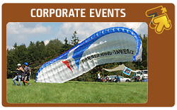 Paragliding Tandem - corporate events